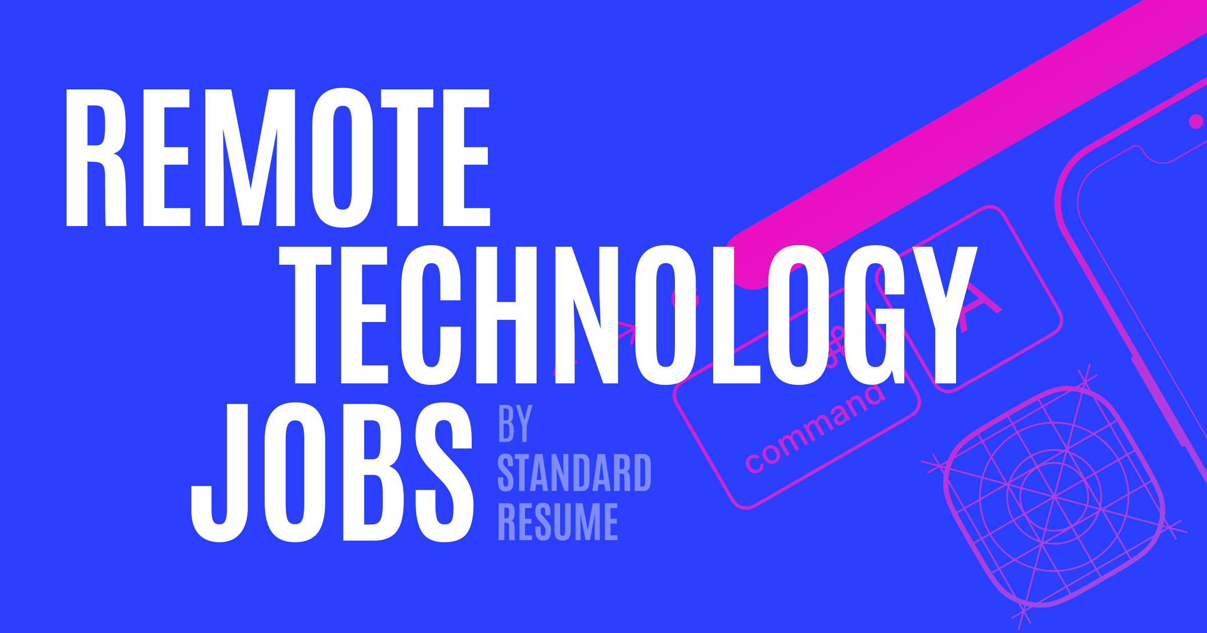 Remote tech jobs