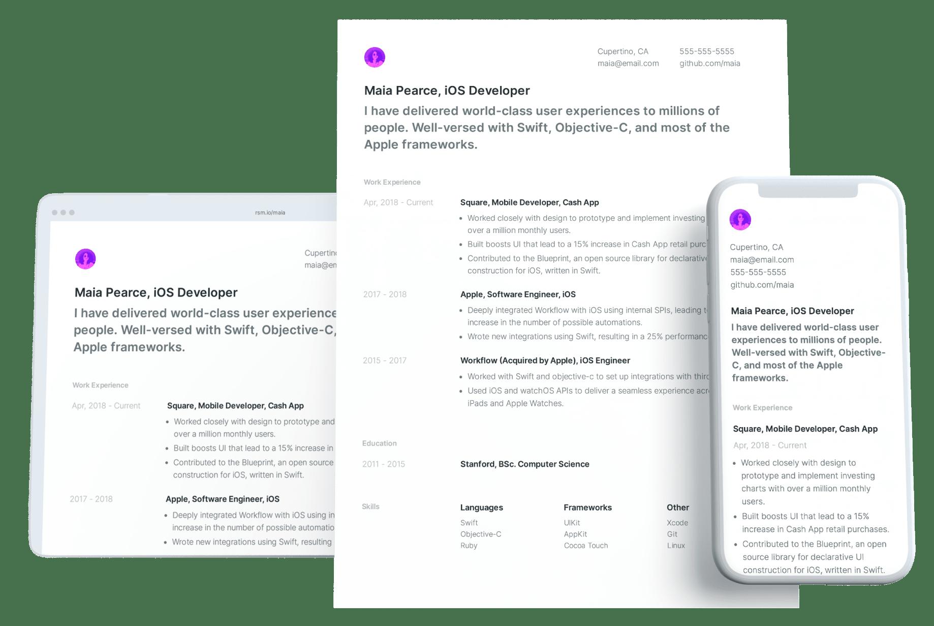 Resume format impressive Resume formats